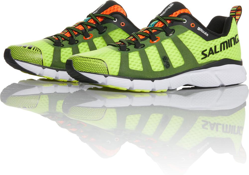Salming Chaussures Jaunes En Route Pour Les Hommes 0Pda0